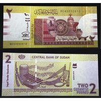Банкноты мира. Судан, 2 суданских фунта