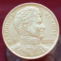 10 песо 1996 ЧИЛИ