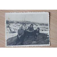 Фотография девушек в Закопане Польша 1939 год.Foto Bilinski Bukowina