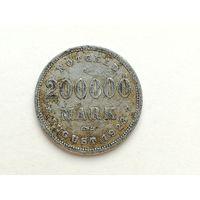 Нотгельд - 200000 марок 1923 года. Нотгельды 1-2-2