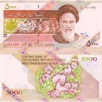 Иран 5000 риалов   UNC