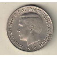Греция 2 драхма 1970
