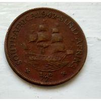 ЮАР 1/2 пенни, 1942 3-2-19