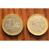 Австрия, 1 евро 2002