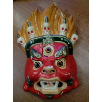 Монгольская маска настенная ( С РУБЛЯ)