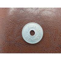 1 пенни 1954 Фиджи