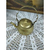 Чайник малый заварный латунь отлично подойдет к самовару