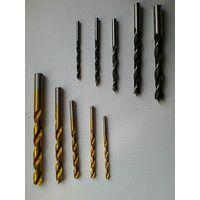 Набор Свёрл - Десять штук - Одним лотом - Диаметр 4,5,6,8,10 мм.