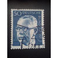 ФРГ. Г.Хайнеман.1970г. гашеная