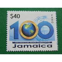 Ямайка 2002г. 100 лет.