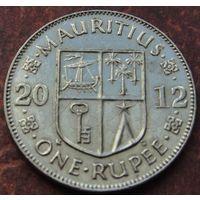 5652:  1 рупия 2012 Маврикий