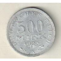 Германия 500 марка 1923 А