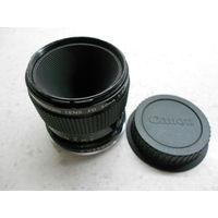 Объектив макрообъектив Canon Macro Lens FD 50 mm 1:3.5 3.5/50 Япония