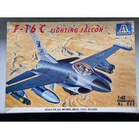 1/48 Italeri F-16 Cat#840 - винтаж из начала 1990-ых