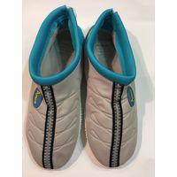Тапки обувь для плавания в море марк 38 красивый цвет есть полоска светоотажателя