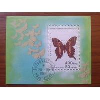 Магадаскар 1984 Бабочки Блок
