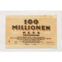 Германия, 100 миллионов марок 1923 год