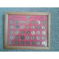 Набор монет Президенты США