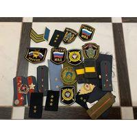 Лот погон петлиц Армейских и МВД