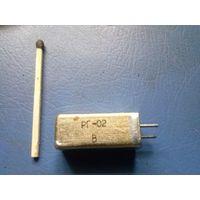 Резонатор кварцевый герметизированный РГ-02 (КВАРЦ) 560кГц