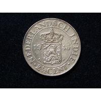 Голландская Индия 2 1/2 цента 1945г