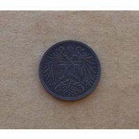 Австро-Венгрия, 2 геллера 1911 г.