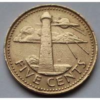 Барбадос, 5 центов 1982 г.