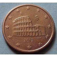 5 евроцентов, Италия 2012 г., AU