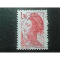 Франция 1982 стандарт 1,80 кр.