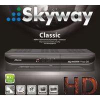 Спутниковый ресивер skyway classic HD +40$ на балансе