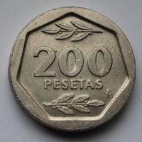 Испания, 200 песет 1987 г