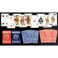 Карты игральные (Пасьянсовые 2 колоды по 52 карты + 3 джокера).