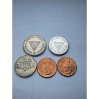 Монеты Америки.