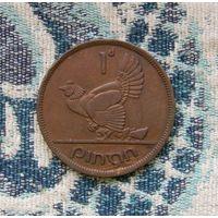 Ирландия 1 пени 1942 года. Большая красивая монета в коллекцию!