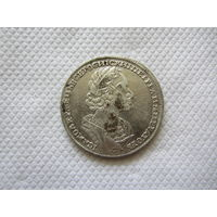 1 рубль 1723 г.