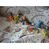 Очень много игрушек одним лотом!Цена за все!Без обмена!