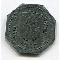 Ng ЦВИЗЕЛЬ - 5 ПФЕННИГОВ 1917