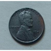 1 цент, США 1943 г.