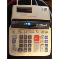 Sharp Sharp EL2192G Two-Color Roller Printing Calculator