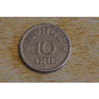 Норвегия 10 эре 1955
