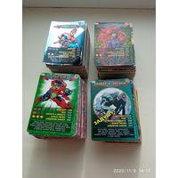Карточки Человек-паук МНОГО РЕДКИХ!!!