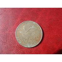 10 центов 1995 год Барбадос