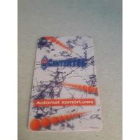 Телефонная карточка Польша