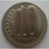 10 сантимов венесуэла