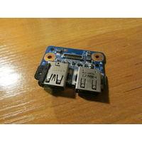 HP DV7-7000 модуль usb 48.4ST17.011