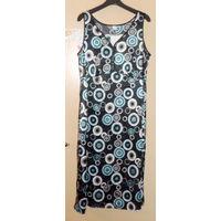 Домашнее платье для крупной барышни новое р-р 54-56