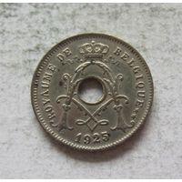 Бельгия 5 сантимов 1925 ROYAUME DE BELGIQUE