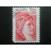 Франция 1977 стандарт 1,00