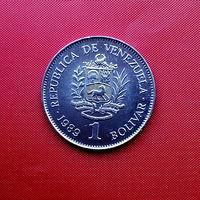 96-10 Венесуэла, 1 боливар 1989 г.