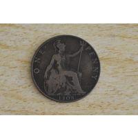 Великобритания 1 пенни 1908